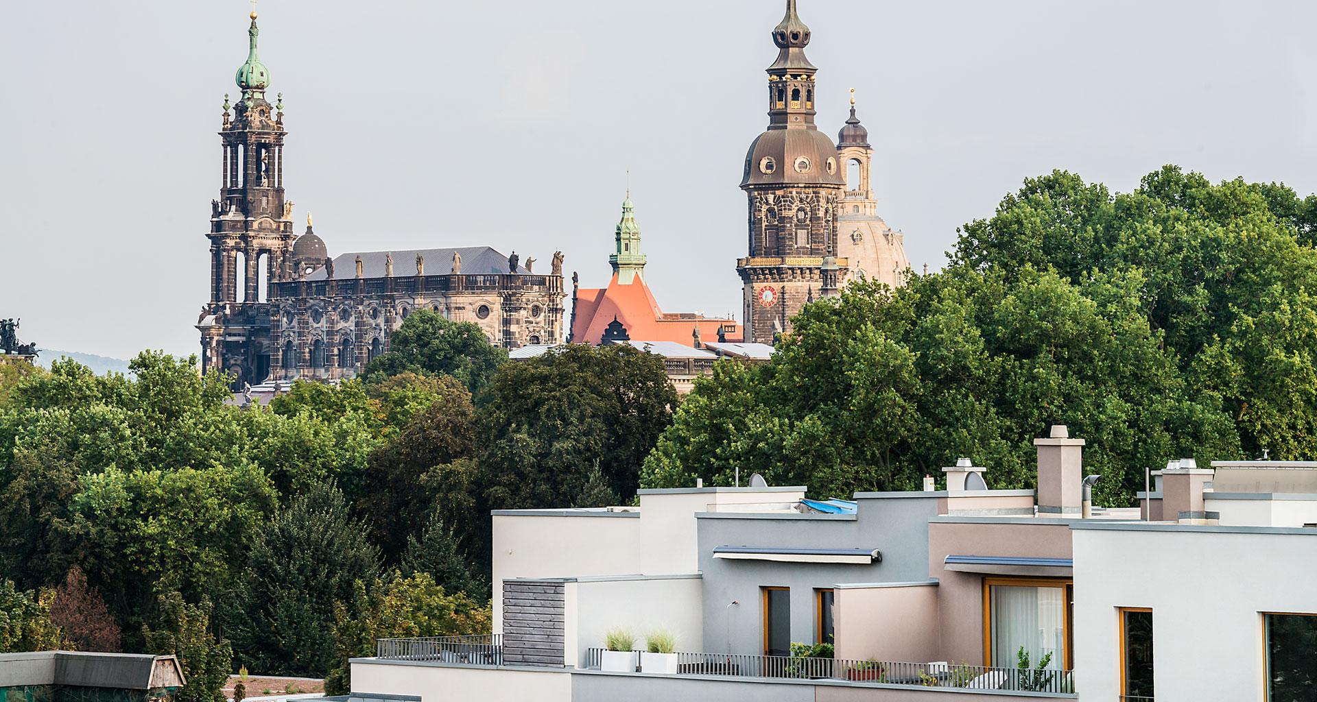 Umgebung - Ansicht 2 Musikerviertel Dresden