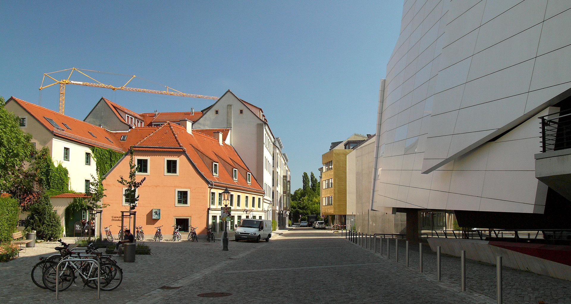 Umgebung - Ansicht Musikerviertel Dresden