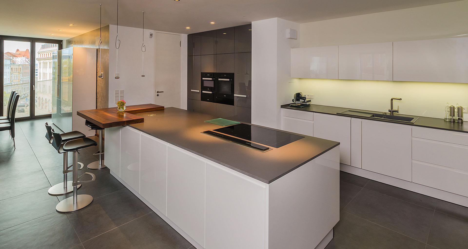 Beispiel Küchenausstattung - Eigentumswohnung Dresden