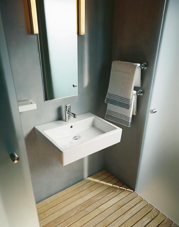 Columbus Dresden - hochwertige Sanitäkeramik für Eigentumswohungen Beispiel Waschtisch