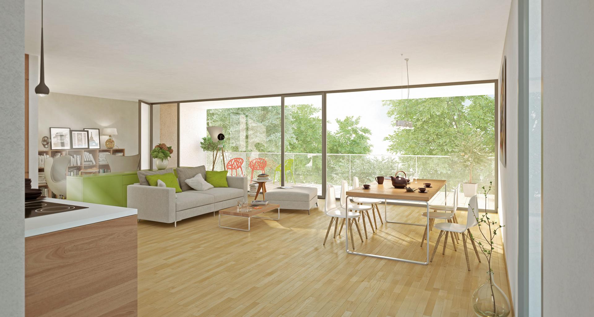Beispiel Innenraumgestaltung- Eigentumswohnung Dresden