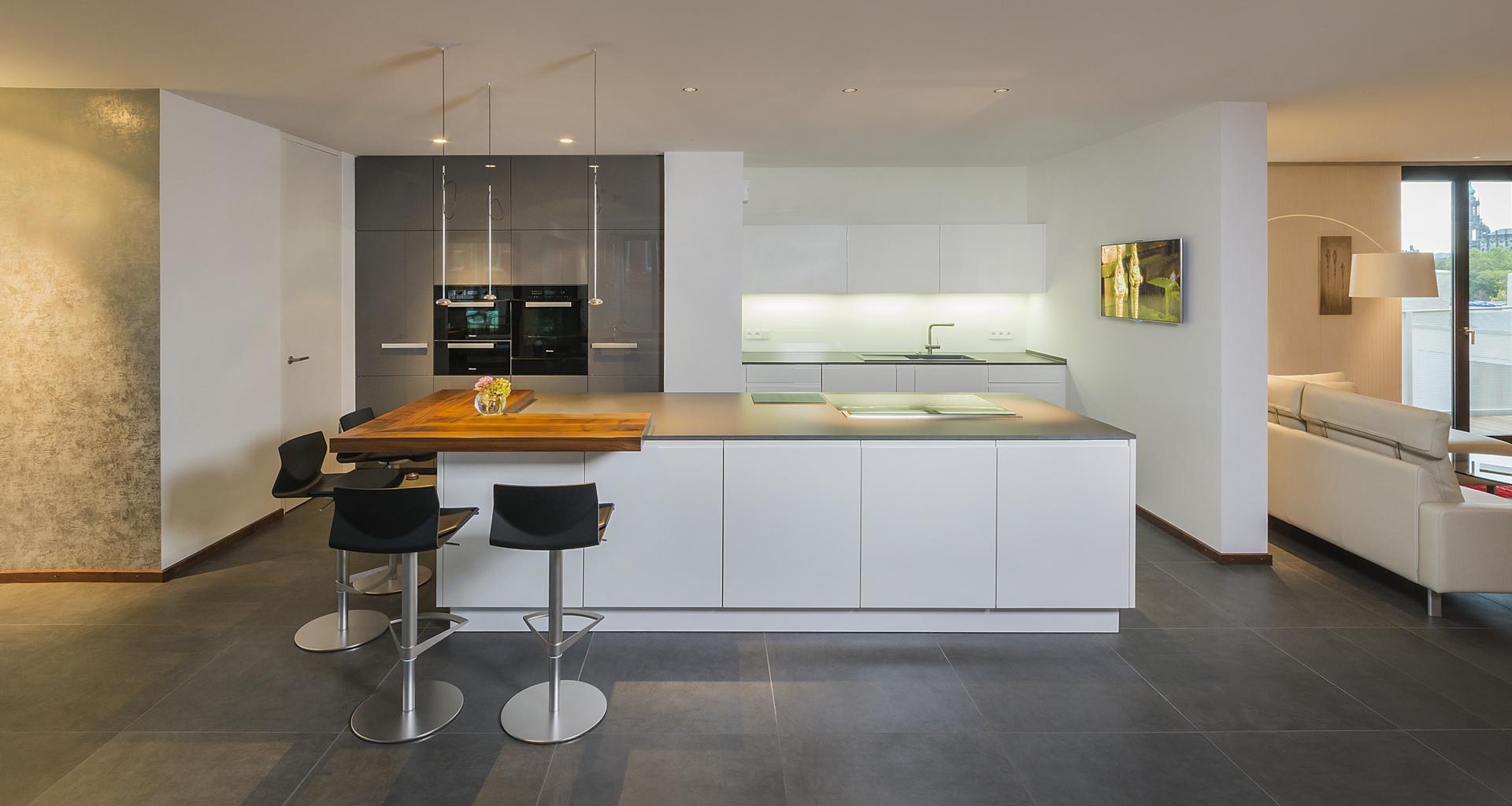 Beispiel Küche - Eigentumswohnung Dresden